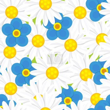 The flowers - pattern - good for wrapping