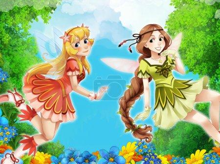 The fairy - Beautiful Manga Girls - illustration