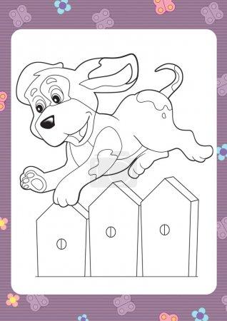 Abbildung eines Hundes