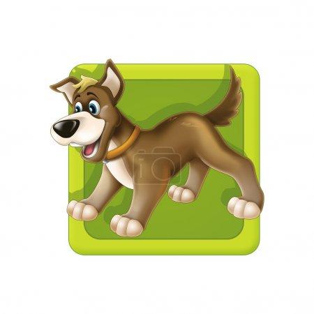 Cute dog icon