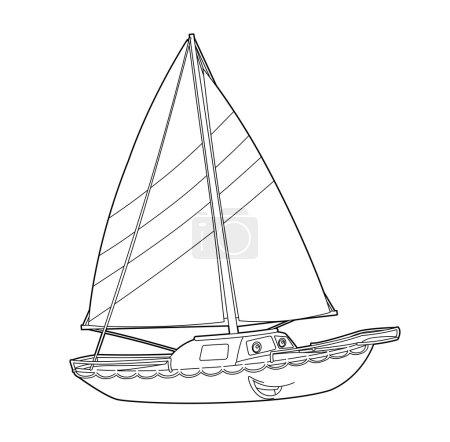 The sailboat run
