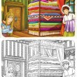 Постер, плакат: Princess and the Pea