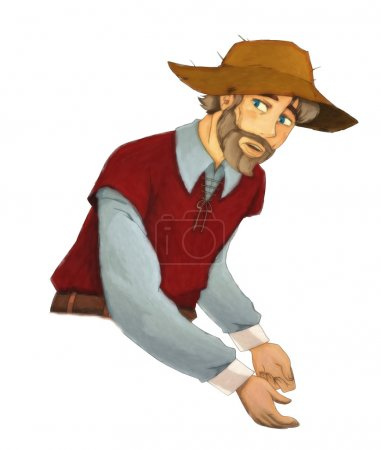Fairytale cartoon character