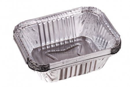 Baking dish from a foil