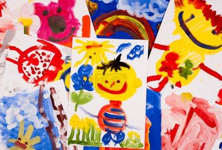 Collage of children
