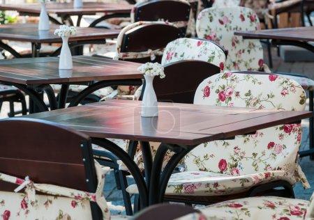 Photo pour Rue café intérieur - image libre de droit