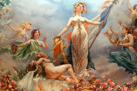 french republic paintings