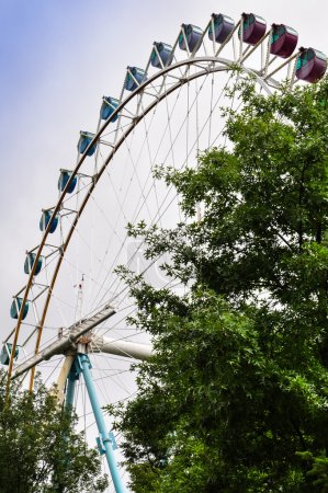 Photo pour Photo du parc d'attractions everland en Corée du Sud - image libre de droit