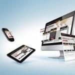 Web design concept for presentation, banner, adver...