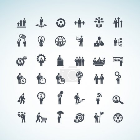 Illustration for Set of business icons - Royalty Free Image