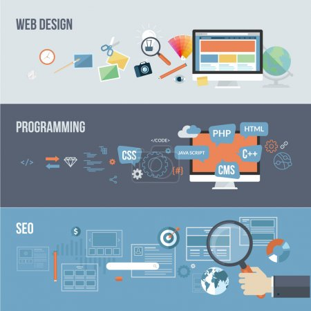 Concepts for web design, programming and SEO...