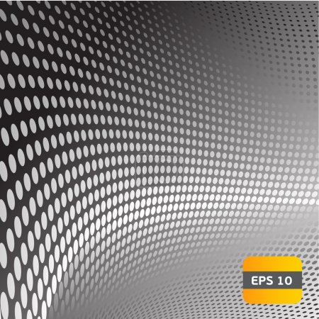 Illustration for Grey steel abstract background - Royalty Free Image