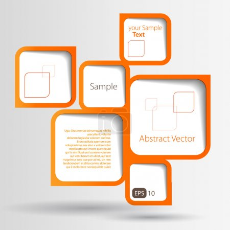 Abstract web design bubble...