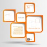 Abstract web design bubble...
