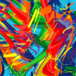 Abstract raibow colorful vector line background...