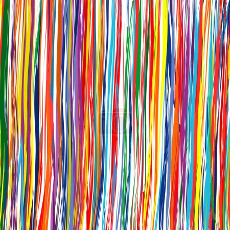 Art curved stripes colorful vector background...