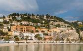 Menton město v únoru - Francouzská Riviéra