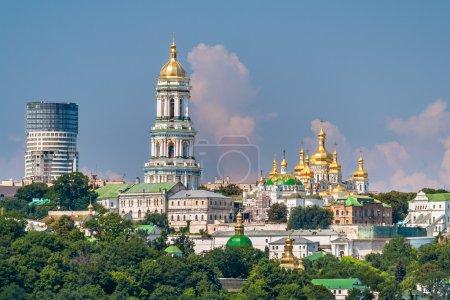 Photo pour Monastère orthodoxe des Kiev pechersk lavra. Ukraine - image libre de droit