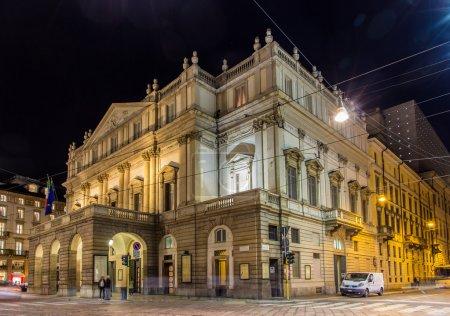La Scala, an opera house in Milan, Italy