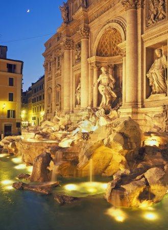 Trevi Fountain,Rome,Italy
