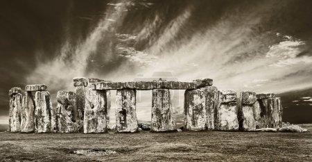 dramatic stonehenge