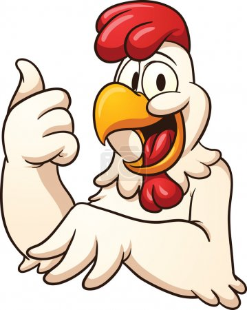 Happy chicken