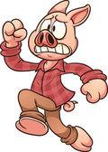 Running pig