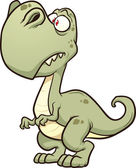 Cartoon T-rex Vector clip art illustration with simple gradients All in a single layer