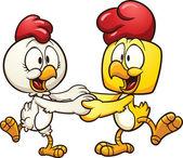 Tančící kuřata