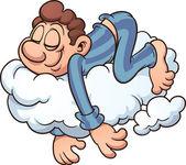 Sleeping on a cloud