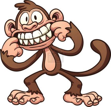 Mocking monkey