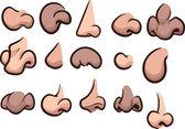Cartoon noses