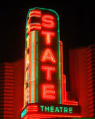 State theater sign