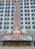 Fox theater in Detroit, MI