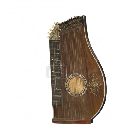 Zither-traditional a German musical instrument