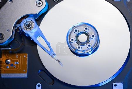 Foto de Primer plano de unidad de disco duro de PC - Imagen libre de derechos