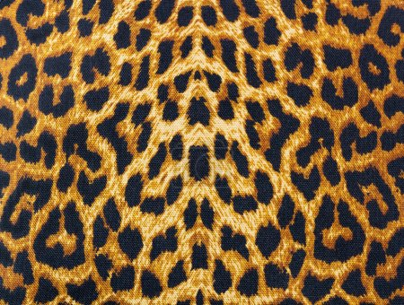 Leopard skin decorative background