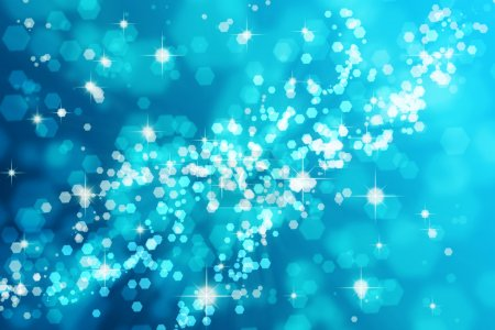 Photo for Light blue bokeh background - Royalty Free Image