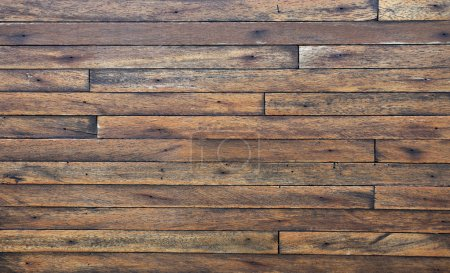 Photo for Old Grunge Vintage Wood Panels Background - Royalty Free Image