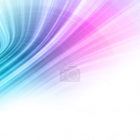 Colorful sky canopy abstract background
