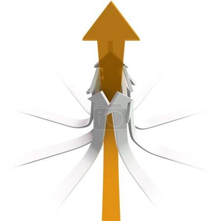 Leader arrow