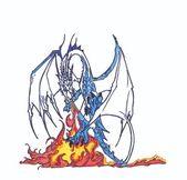 Ohnivý drak