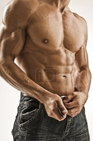 Photo for Attractive body of young man - Royalty Free Image