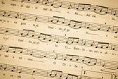 Sheet music antique