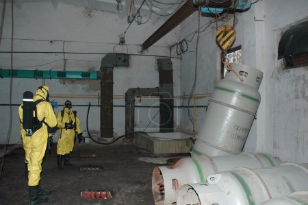 Operation of chemical protection Emergency