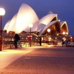 Opera House at night November 3, 2007 in Sydney, A...