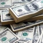Dollar banks note money background...