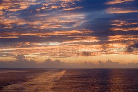 Photo for Sea sunset landscape image - Royalty Free Image