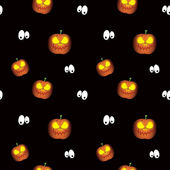 A beautiful vector pattern witha a halloween pumpkin