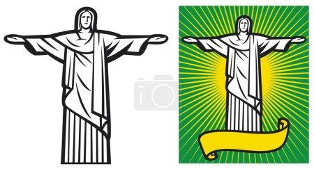 Brazil design - Christ